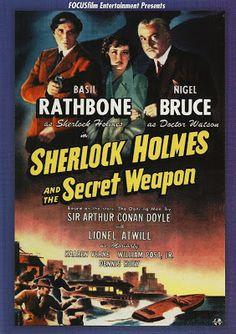 projetor antigo: Sherlock Holmes e a Arma Secreta 1943 Leg avi 1943 , Aventura/Policial , Basil Rathbone , Kaaren Verne , Legendado , Lionel Atwill , Mary Gordon , Nigel Bruce , Paul Fix , Roy William Neill , Rudolph Anders