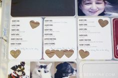 """Love the idea of a current """"favorites"""" card for each member of the family: Favorite food, drink, song, movie, tv show, things to do etc."""