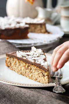 Rezept: Schneller Nusskuchen ohne Mehl und Butter