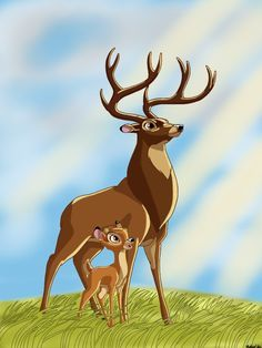 *BAMBI & the GREAT PRINCE (father) ~ Bambi