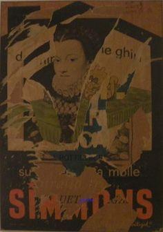 Sua Maestà La Regina - Mimmo Rotella - 1962