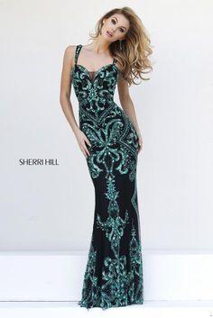Sherri Hill 9751 Sherri Hill Prom, Quinceanera, Mother of the Bride, Bridal, Special Occasion Dresses, Formalwear, Formal Attire, Second Weddings
