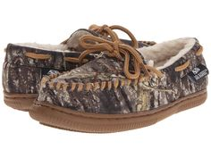 df157cfc851e9 M&F Western – Moccasin Slippers (Toddler/Little Kid/Big Kid) (Mossy Oak Camo)  Men's Slippers - Slippers.com - Shop Comfy