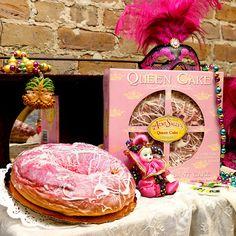 almond croissant queen cake