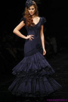 Traje de Flamenca - Margarita-Freire - Simof-2012