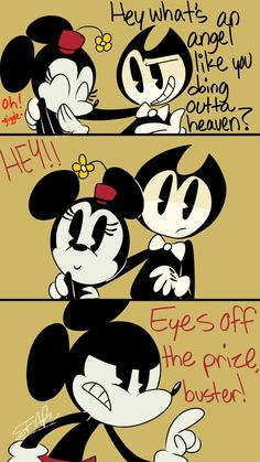 I love how some Indy game can be related to Micky Mouse despite being COMPLETELY different genres