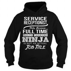 Awesome Tee  Awesome Tee For Service Receptionist Shirts & Tees #tee #tshirt #Job #ZodiacTshirt #Profession #Career #receptionist