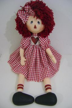 Kenny always said your as cute as a rag doll...:)