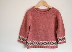 gahhh, the colours are perfect. Beginner Knitting Patterns, Fair Isle Knitting Patterns, Knitting For Kids, Knitting For Beginners, Knitting Yarn, Knit Patterns, How To Purl Knit, Baby Kind, Jumpers For Women