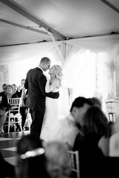 Wedding Recap: The Reception. Bride and groom. Bride and groom first dance. Wedding photography