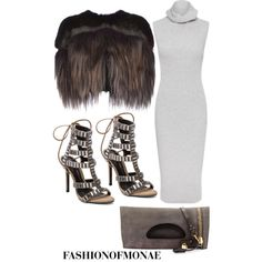 A fashion look from January 2015 featuring Whistles dresses, Marni coats and Schutz pumps. Browse and shop related looks.