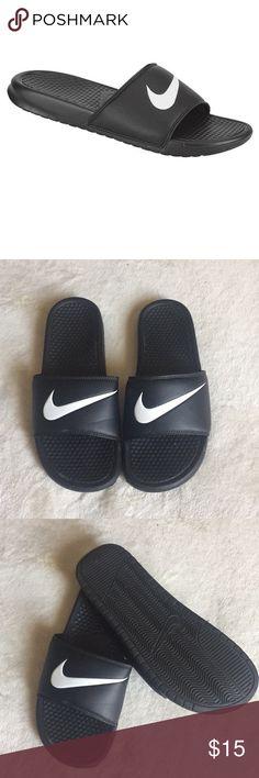 Men's Nike slide , worn once , great condition Men's Nike slide , size 11 , worn once and condition is great 😊 Nike Shoes Sandals & Flip-Flops