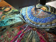 Love this idea by Gordana Brelih, work in progress. machine stitched Tyvek and Lutradur, burned with the heat gun Creative Embroidery, Hand Embroidery, Machine Embroidery, Thread Painting, Free Motion Quilting, Mixed Media Art, Textile Art, Fiber Art, Stitches