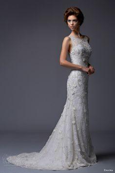 Illusion top. Enaura Bridal. #weddings #bridal gowns #hawaiiprincessbrides