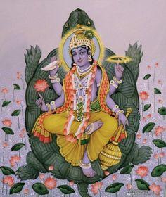 Spirituality ~ Kurma. Second Avatar of Vishnu.
