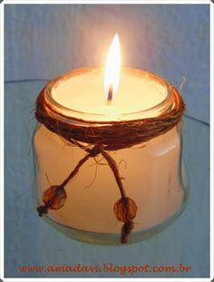 velas aromáticas - com dicas e truques