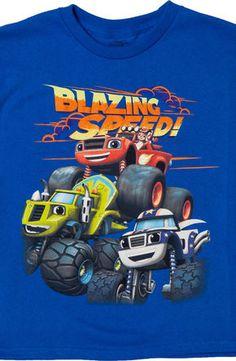 AJ and The Monster Machines Shirt: Blaze Monster Machines Kids T-shirt Birthday Themes For Boys, 6th Birthday Parties, 4th Birthday, Birthday Ideas, Blaze And The Monster Machines Party, Blaze The Monster Machine, Monster Truck Party, Toy Story Party, Birthdays