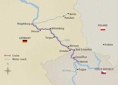Elegant Elbe - 2015 Berlin to Prague - Cruise Overview