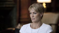 Nice. de la nouvelle série américaine House of Cards, Robin Wright