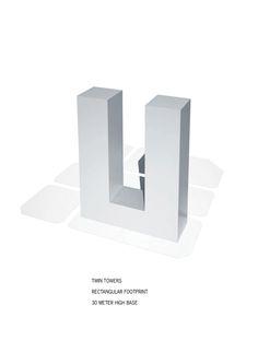 Galeria de Primeiro lugar no concurso das Torres duplas para o Campus de Alta Tecnologia e Pesquisa / KSP Jürgen Engel Architekten - 8