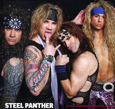 Steel Panther - sexy bitches!