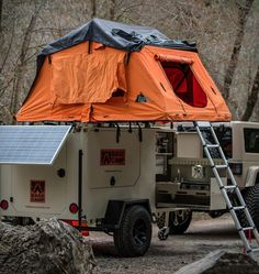 The season for campfires, exploring and chasing sunsets is upon us. Experience the outdoors with confidence and comfort in a Base Camp Trailer, specially built for rugged outdoor living and performing in the harshest of climates and conditions. Rv Campers, Camper Trailers, Camper Van, Roof Top Tent, Top Tents, Bug Out Trailer, Tent Camping, Glamping, Expedition Trailer