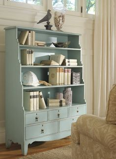 Trends in Furniture – Shabby chic furniture – Home Decor Do It Yourself Chic Furniture, Shabby Chic Dresser, Home Furniture, Bookcase, Chic Decor, Bookcases For Sale, Shabby Chic Room, Shabby Chic Homes, Chic Home Decor