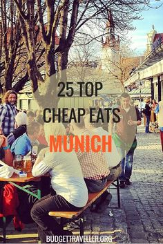 Curious to know about the 25 top budget eateries in Munich? Look no further. Local muncher and avid foodie Julia Pawelczyk reveals her favourite places to enjoy international food on a budget. From Italian pasta, to homemade Vietnamese dishes, to grilled European Vacation, European Travel, Europe Centrale, Hostels, Voyage Europe, Munich Germany, Backpacking Europe, Future Travel, Grilled Octopus