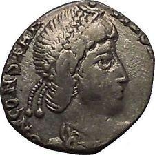 CONSTANTIUS II 355AD Arles Silver Siliqua Authentic Ancient Roman Coin i53448 https://trustedmedievalcoins.wordpress.com/2016/01/25/constantius-ii-355ad-arles-silver-siliqua-authentic-ancient-roman-coin-i53448/