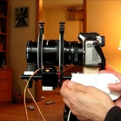 DIY Arduino Lens Controller - Synchronized Zoom/Focus with Wii Classic Controller