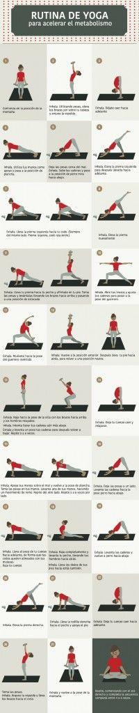 Metabolism: Myths and Truths Yoga Poses With Weights.Yoga Poses With Weights. Yoga Moves, Yoga Exercises, Pilates Yoga, Ashtanga Yoga, Vinyasa Yoga, Iyengar Yoga, Yoga Flow, Yoga Meditation, Yin Yoga