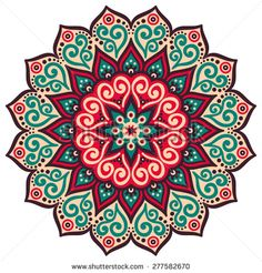 Find Mandala Round Ornament Pattern Vintage Decorative stock images in HD and millions of other royalty-free stock photos, illustrations and vectors in the Shutterstock collection. Mandala Art, Mandala Design, Mandalas Drawing, Indian Mandala, Mandala Tapestry, Mandala Painting, Mandala Pattern, Dot Painting, Pattern Flower
