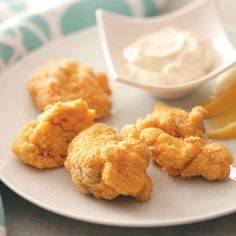 Fried Clams Recipe from Taste of Home :: shared by Tim Connolly of Freeport, Maine :: http://pinterest.com/taste_of_home/