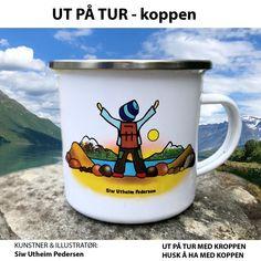 Hygge, Illustrator, Mugs, Tableware, Retro, Dinnerware, Tumblers, Tablewares, Mug