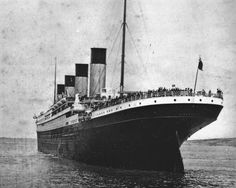 April 10...Titanic leaves out for it's first and last voyage