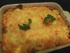 Lasagne - Denne versjonen av lavkarbo lasagne er like god som orginalen Lchf, Keto, Bechamel, Low Carb Recipes, Macaroni And Cheese, Food And Drink, Gluten Free, Pasta, Ethnic Recipes