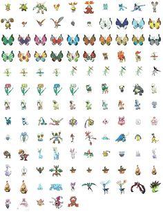 Full view of Pokémon Omega Ruby / Alpha Sapphire - Generation. All Pokemon Games, 150 Pokemon, Pokemon Fan Art, Kalos Pokemon, Pokemon Pokedex, Omega Ruby Alpha Sapphire, Papercraft Pokemon, Pokemon Omega Ruby, Pokemon Official
