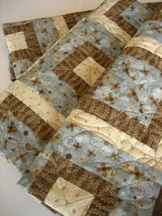 Handmade Quilt Simple Times by PatchworkMountain on Etsy