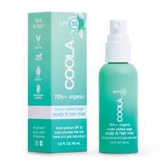 Scalp & Hair Mist Organic Sunscreen SPF 30 – COOLA Best Tanning Oil, Coola Sunscreen, Natural Red Hair, Good Shampoo And Conditioner, Hair Mist, Best Sunscreens, Best Shampoos, Skin Care