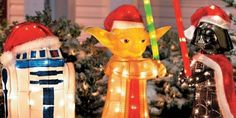 Star Wars Holiday Decor. Shut the front door. Takemypaycheck.com. Love it