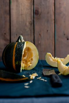 Acorn Squash from Asris photostream My Favorite Food, Favorite Recipes, Raw Photography, Chocolate Trifle, Acorn Squash, Some Recipe, Edible Art, Fruits And Vegetables, Food Styling