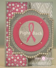 Fight Back Card with Nestabling