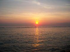 sunrise of sanur beach, bali Sanur Beach Bali, Great View, Beach House, Sunrise, Celestial, Emeralds, Inspiration, Outdoor, Beach Homes