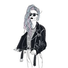 Cute Grunge Couples Tumblr | outline drawings | Tumblr
