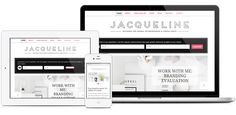 Jacqueline- a chic WordPress Theme for women entrepreneurs, consultants & coaches from #BluChic