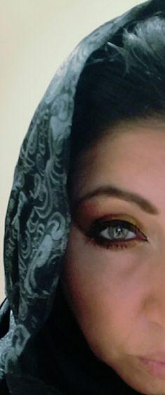 He sees my soul through my eyes .Embrace culture. ❤ Dubai.  Corylynndegdesign.