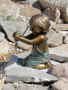 Children Statues enfant Pinterest Gardens Garden statues