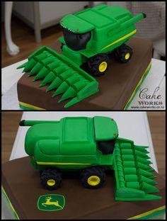 John Deere Harvester Cake