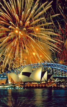 Sydney, Australia - Fireworks