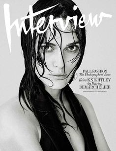 Keira Knightley by Patrick Demarchelier for Interview September 2014